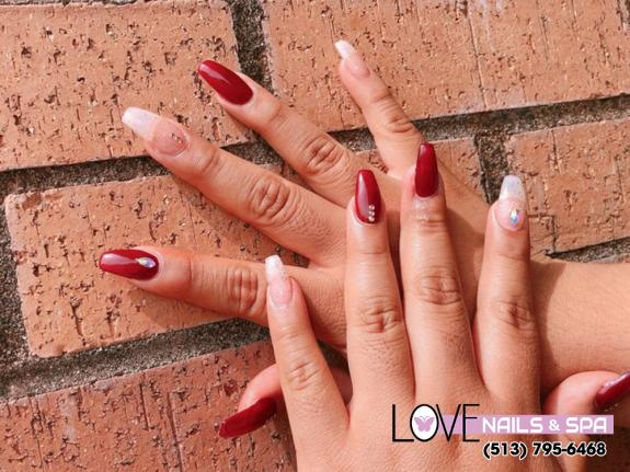 Set up an appointment with Love Nails and Spa treat you like a queen